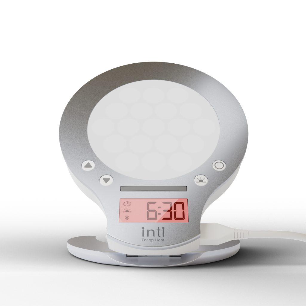 快適な朝起きを可能にする光目覚まし時計inti4s