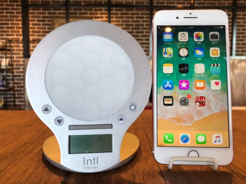 iPhone7plusとの比較