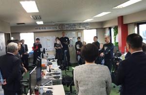 北海道議会より経済委員会担当の議員さん方が ムーンムーンを視察にいらっしゃいました