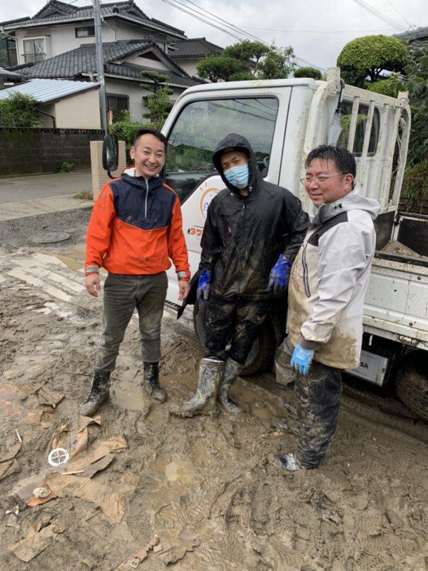 熊本県人吉市豪雨災害ボランティア